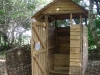 Compost toilet at Denmark Farm Eco Campsite