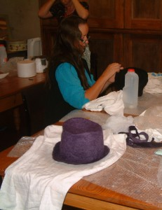 felt hat making