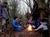 Skills for life: den building and making fire