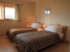 Twin bedroom at Denmark Farm Eco Lodge