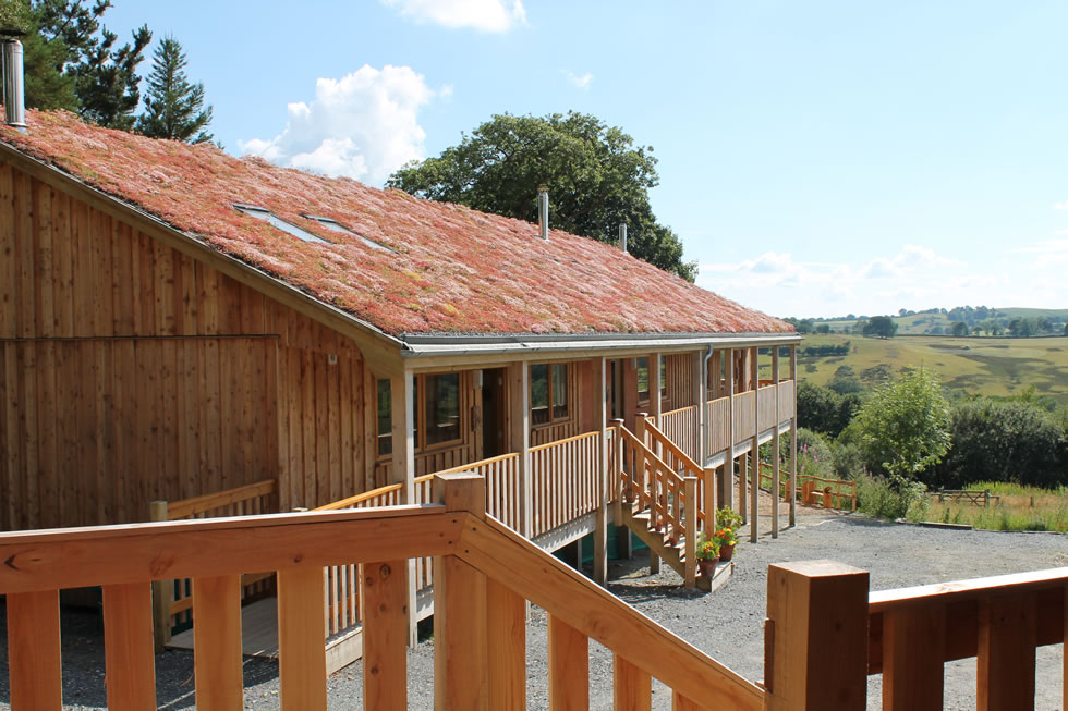 Our Eco Lodge provides comfort and sustainability for holidays immersed in nature.