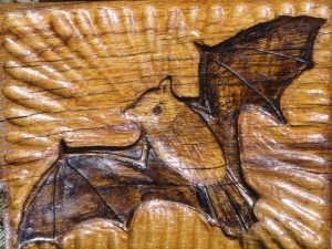 Bat carving 2