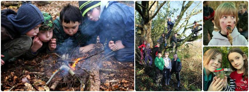 outdoor after school club in wales