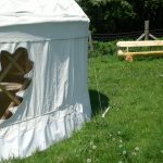 finished yurt May 2008