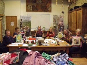 One of our patchwork classes