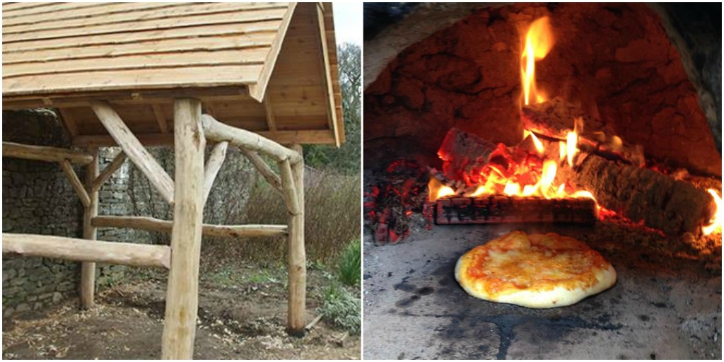 cob oven shelter