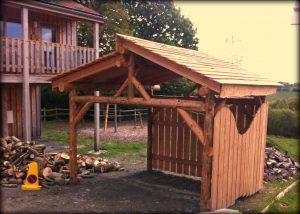 finished shelter