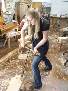 Shave horse workshop March 2102 015