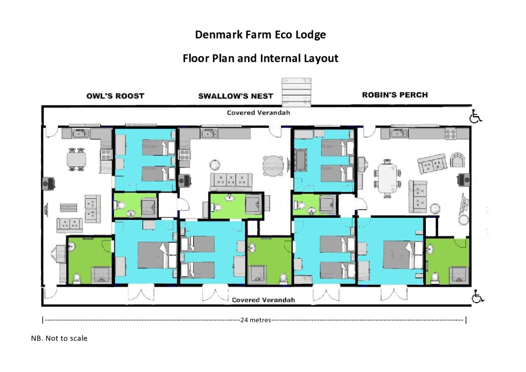 Eco Lodge Floor Plan