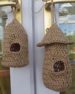 crochet bird roost