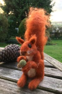 needle felting animal