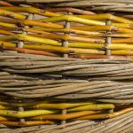 Willow Weaving ~ Rope Coil Basket