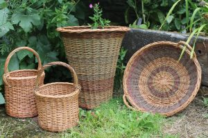 willow basket weaving