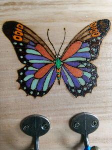 Pyrography Butterfly