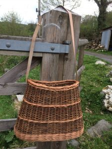 willow shoulder basket