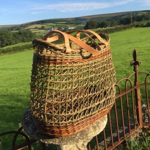 willow creel weave basket