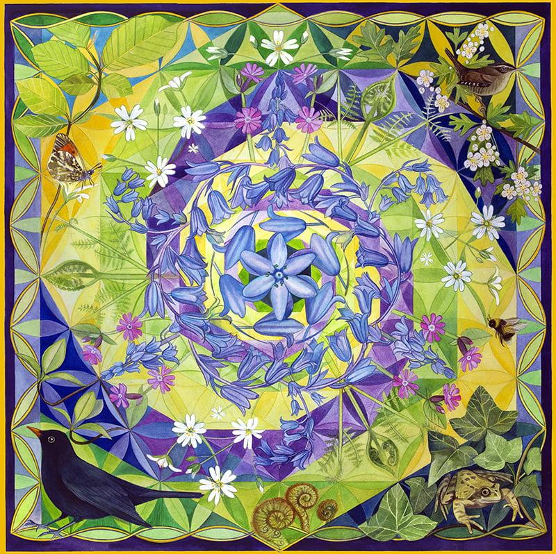 Beltane Mandala