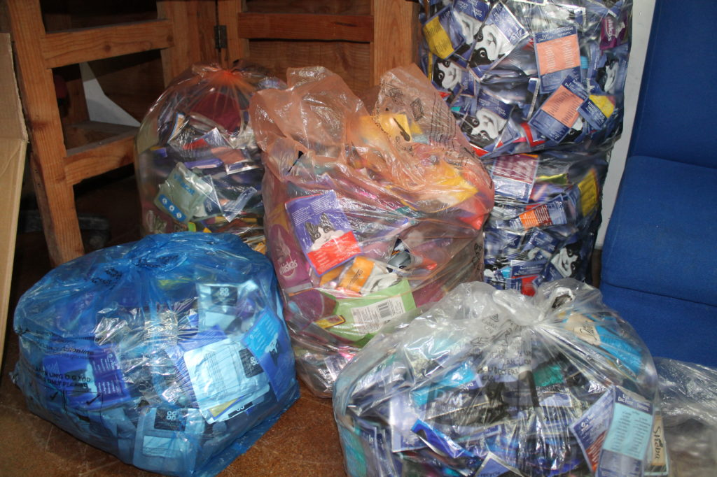 Recycling for TerraCycle
