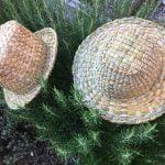 weave rush hat