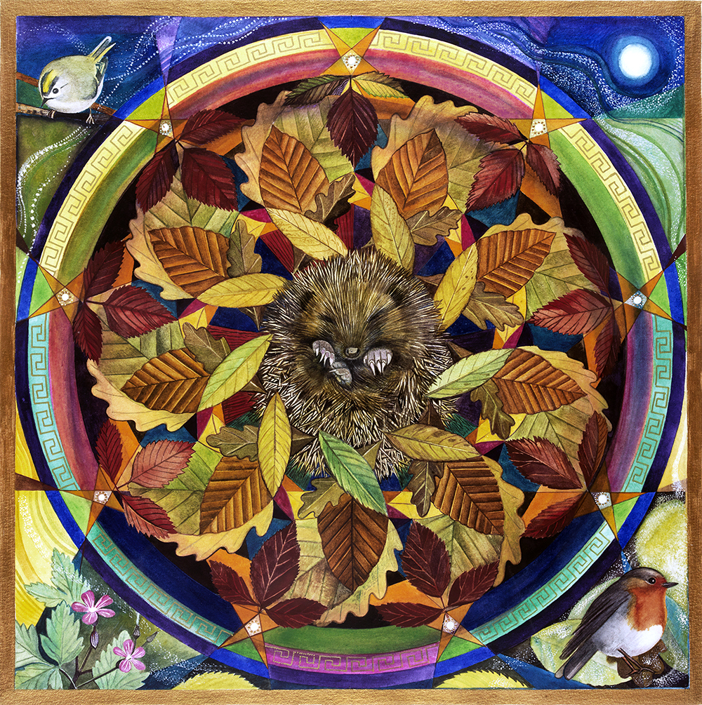 autumnal mandala retreat