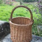 Willow Weaving - Top Hat Basket