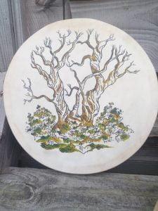 samhain shamanic drum